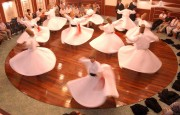 Whirling dervishes perform at a cultural center in Istanbul in July 2011. Photos by Trevor Kapralos