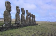 Easter Island. Photograph by Phillie Casablanca