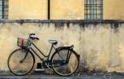 Mantova: facade with bike 3
