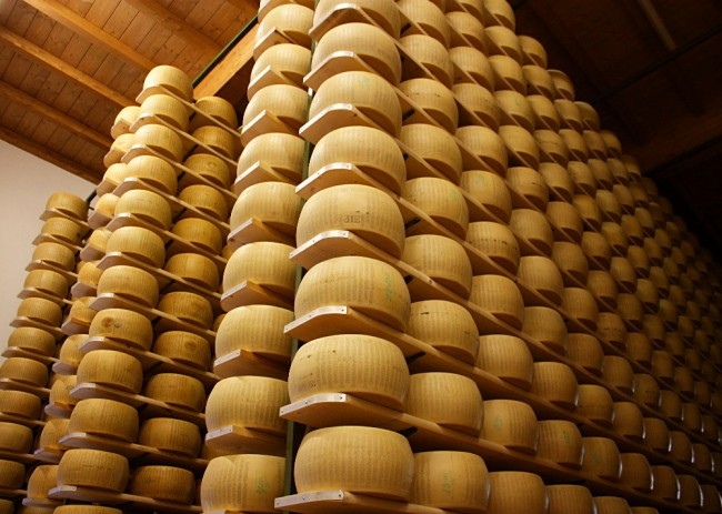 Parmigiano-Reggiano.Photograph by cosmos_72 on Flickr